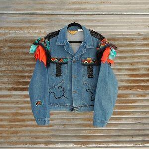 Western Denim Jacket.